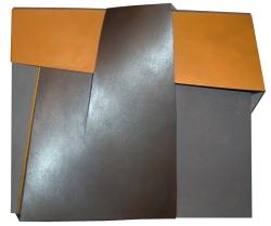 Lucio Perna confini incompiuti 2014 cm su tela70x80