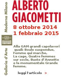 Giacometti GAM Milano