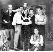 Gruppo Forma 1 Pietro Consagra, Mino Guerrini, Ugo Attardi, Carla Accardi, Achille Perilli, Antonio Sanfilippo e Piero Dorazio