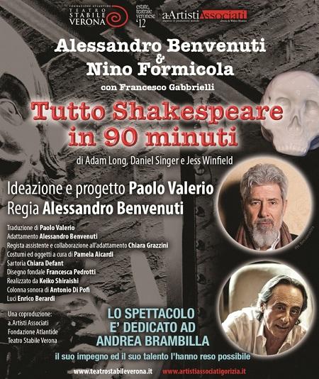 Tutto Shakespeare in 90 minuti