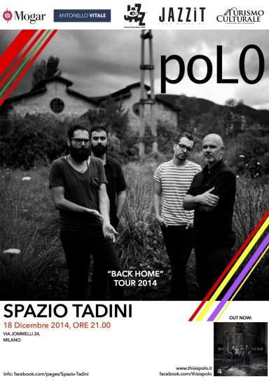 Jazz Milao 18 DICEMBRE SPAZIO TADINI,poL0, Back Home, CamJazz
