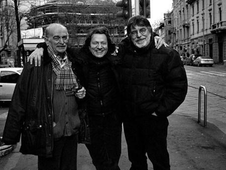 Angelo Bogani, Carlo Orsi e Gianfranco Pardi