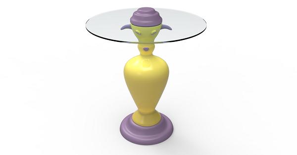 Anna Gili, tavolino PETit TABLE pecora