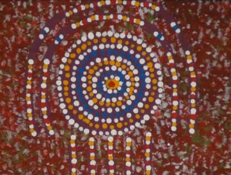 Wenten rubuntja arte aborigena australiana praline for Arte aborigena