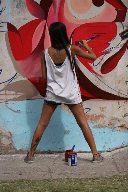 Fio Silva, street artist