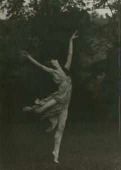 Arnold Genthe portrait of Isadora Duncan, ca. 1925