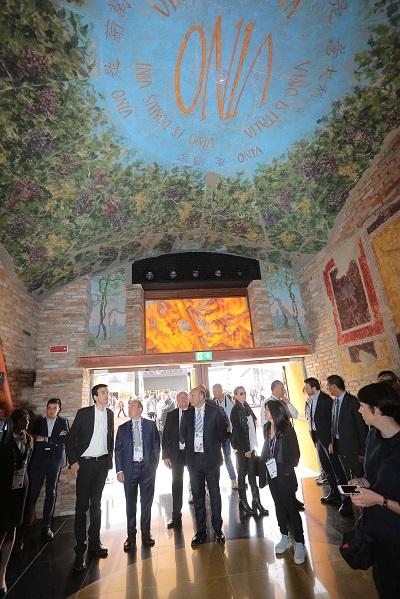 Padiglione del vino a Expo 2015