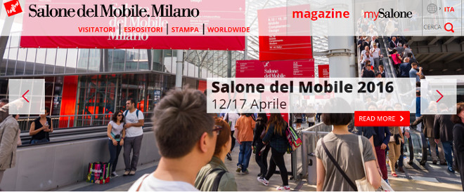 Fuorisalone 2016 milano salone del mobile date e for Elenco espositori salone del mobile 2016