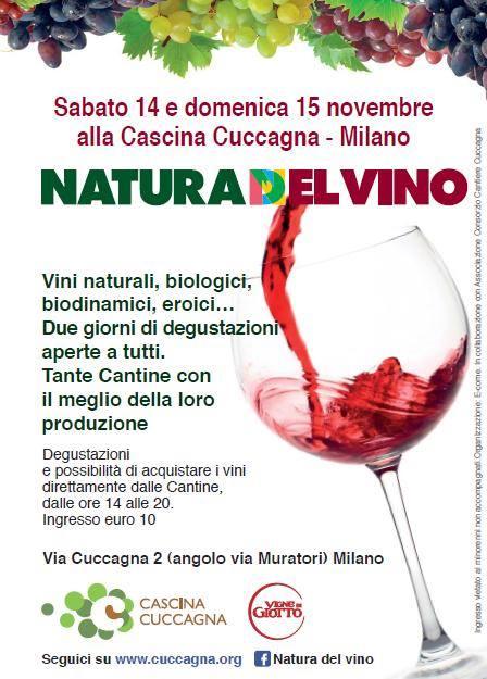 Natura del vino- Cascina Cuccagna