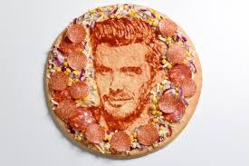Pizza con personaggi