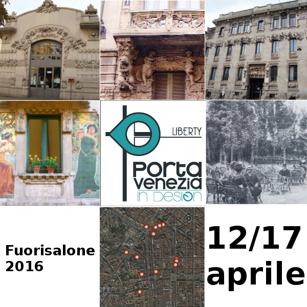 Porta venezia in design 2016 fuorisalone liberty e food for Fuorisalone 2016 milano date